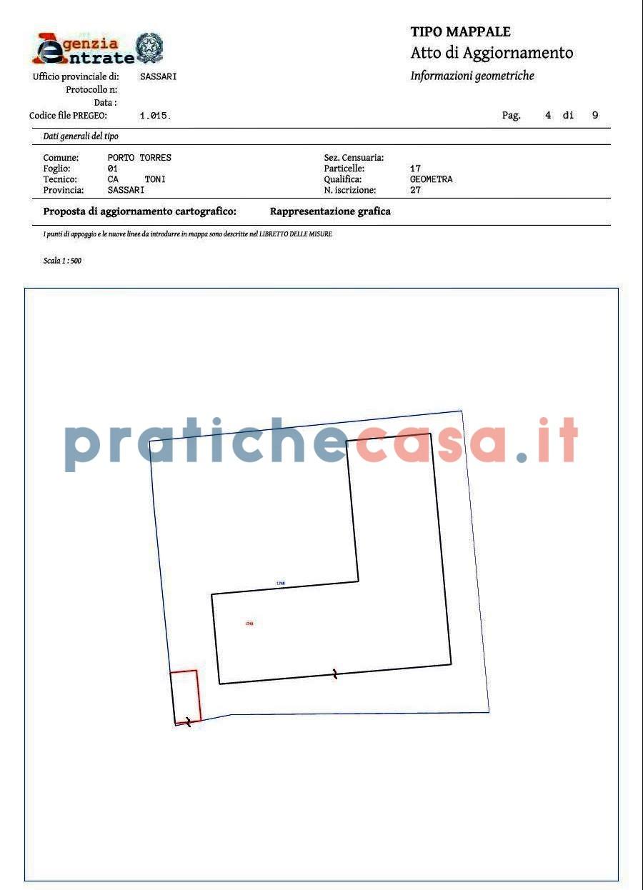 Tipo Mappale Aggiornamento Mappe - Pratiche Casa - www ...