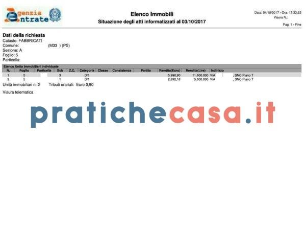 agenzia delle entrate architetti architetto burocrazia catasto elenco immobili elenco immobili online geometra immobile pratica pratiche pratiche casa pratichecasa.it visura visura catastale visure