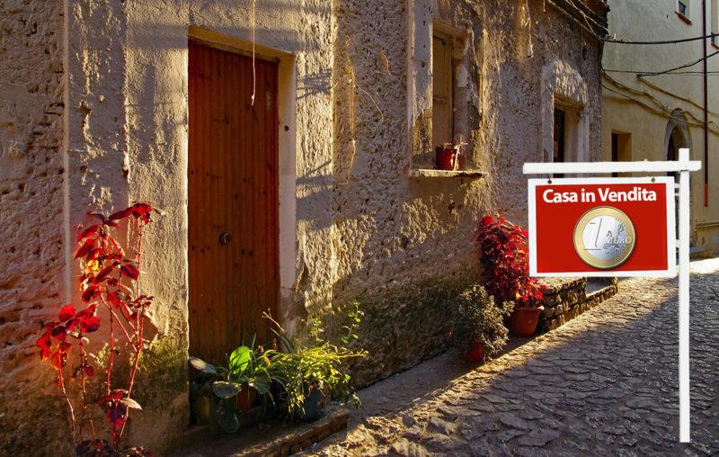 Comprare casa a 1 euro, l'articolo