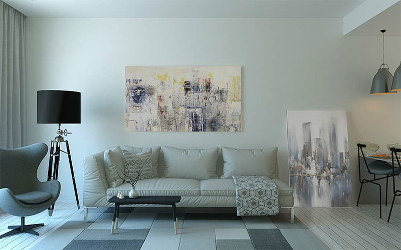 I colori delle pareti che ci fanno sentire a casa nostra