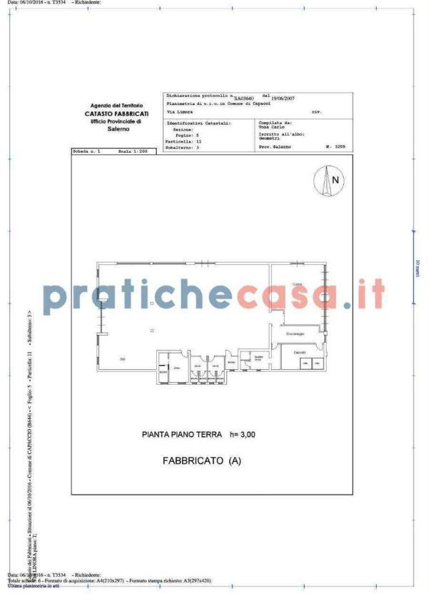 planimetria catastale online pianta ufficiale pratiche casa