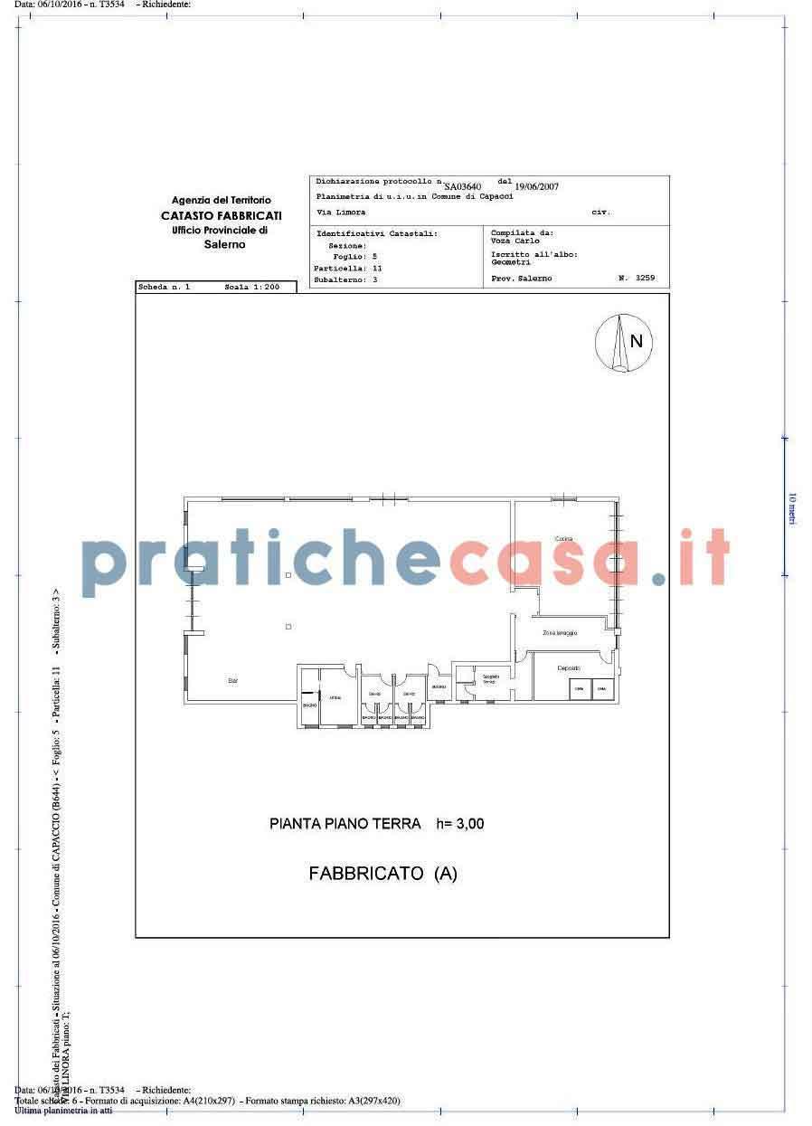 Planimetria Casa Con Misure planimetria catastale